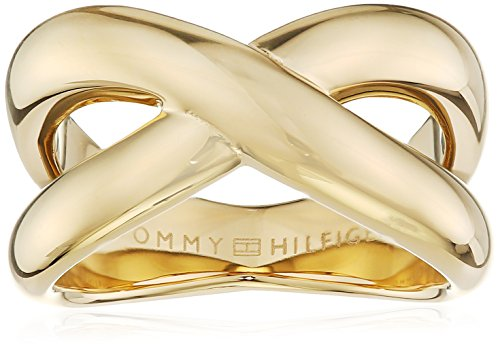 Tommy Hilfiger Jewelry Damen-Ring Classic Signature Edelstahl Gr. 58 (18.5) - 2700964E