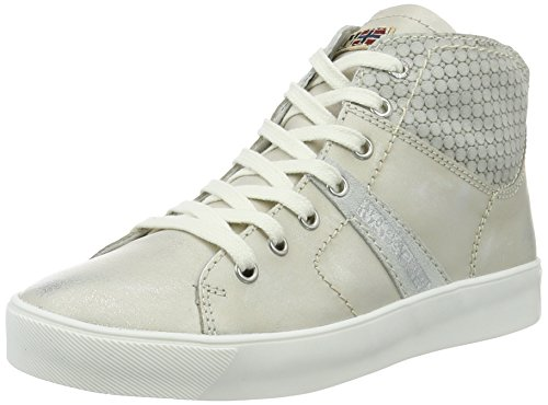 Napapijri Damen Minna High-Top Silber (Silver)