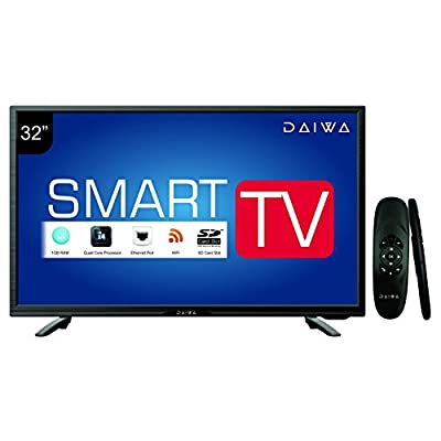 Daiwa D32C4S 80 cm (32) Smart HD Ready (HDR) LED Television with Web Cruiser Remote 1366x768