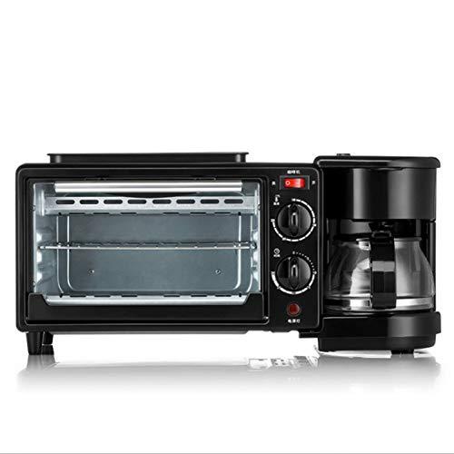 WHHH Sartén Horno cafetera cafetera para Hornear máquina de Desayuno hogar tostadora...