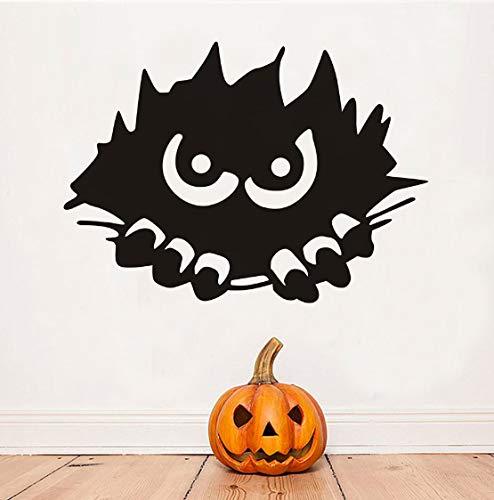 Monster Beängstigend - Pvc-Wand-Aufkleber, beängstigend Monster Halloween abnehmbare Kunst