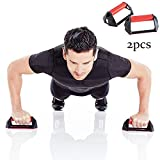 Flessioni Push up H-Type Supporto Push-Up Stabile Anti-Skid Home Fitness Esercizio Core Shoulder Muscoli Addominali (Set di 2)