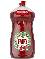 Fairy Clean & Fresh Washing Up Liquid Pomegranate and Honeysuckle, 1410 ml