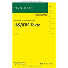 IAS/IFRS -Texte 2017/2018 (Textausgabe)