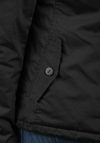 DESIRES Tilda Damen Übergangsjacke Jacke gefüttert mit Kapuze, Größe:XS, Farbe:Black (9000) - 6