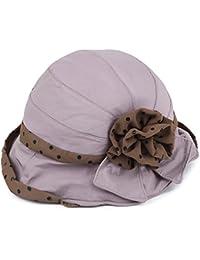 QISANFNDSGJ Sombrero Señora versión Coreana de la Visera en el otoño Sombrero  para el Sol… 418983d0370