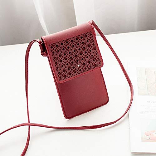 Borsa del telefono cellulare della Un-Spalla incisa laser delle donne di modo,YanHoo Borse a spalla da donna Borse a zainetto Borse da palestra Messenger Casual per Donna,unisex,Tote da viaggio
