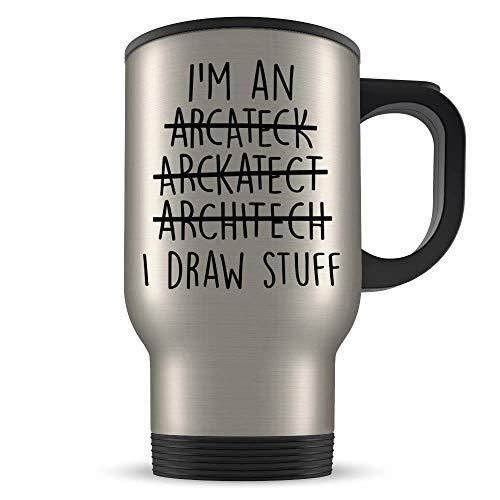 ChGuangm Architect Travel Mug Architect Gift Architecture Gift Architect Gift for Men Architect Gift for Women Architecture Travel Mug