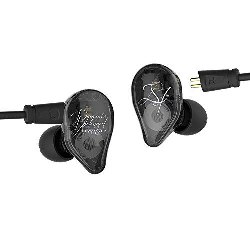 Yinyoo KZ ED16 Hifi Kopfhörer mit 1DD + 2BA Triple Treiber In Ear Monitore mit 2Pin 0,75mm Abnehmbares Kabel