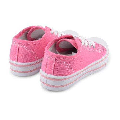 Footwear Sensation , Jungen Sneaker Schwarz schwarz Hot Pink