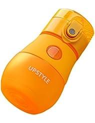 Aspiration de tuyaux en plastique Forme créative à la vapeur Pratique Tasse de voyage portable Orang
