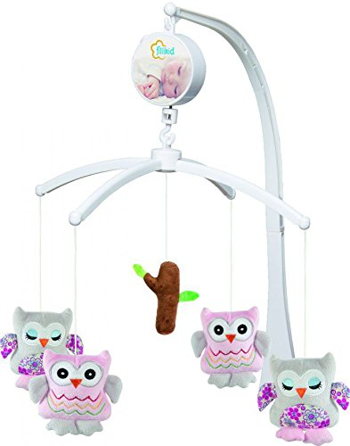 FILLIKID Mobile Eule (Mobile Kinderbett Eule Für Baby)