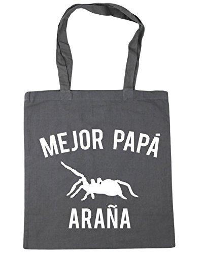 hippowarehouse-mejor-papa-arana-bolso-de-playa-bolsa-compra-con-asas-para-gimnasio-42cm-x-38cm-10-li