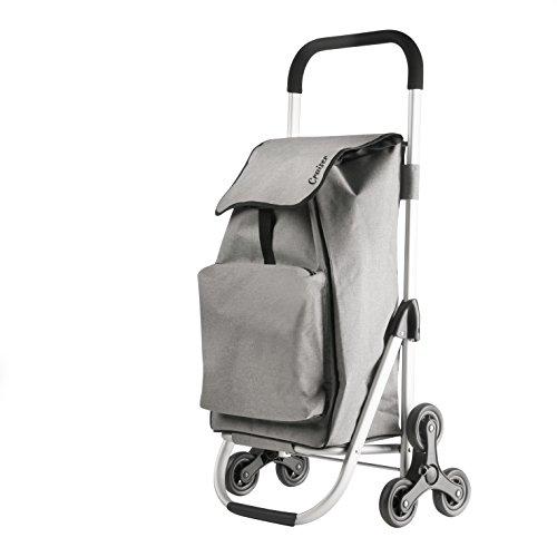CarryOn Shopping Cruiser Stairs Climber Grey - Arbeiten Trolley
