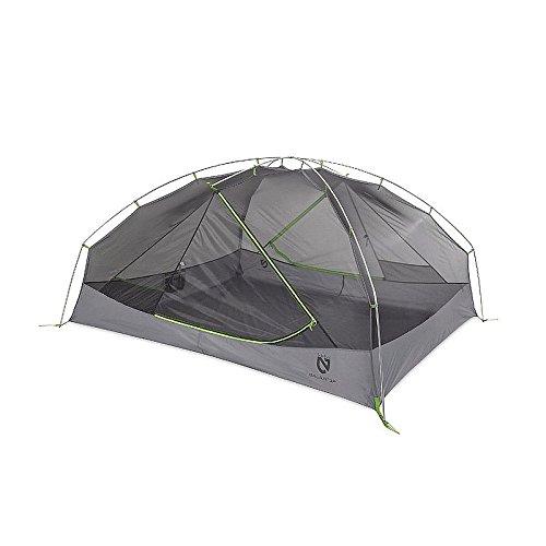 Nemo Galaxi Rucksackreisen Zelt mit Fußabdruck, Herren Damen, Birch Leaf Green, Einheitsgröße (2p 3-jahreszeiten-backpacking-zelt)