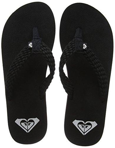 Roxy Porto II, Zapatos Playa Piscina Mujer, Negro