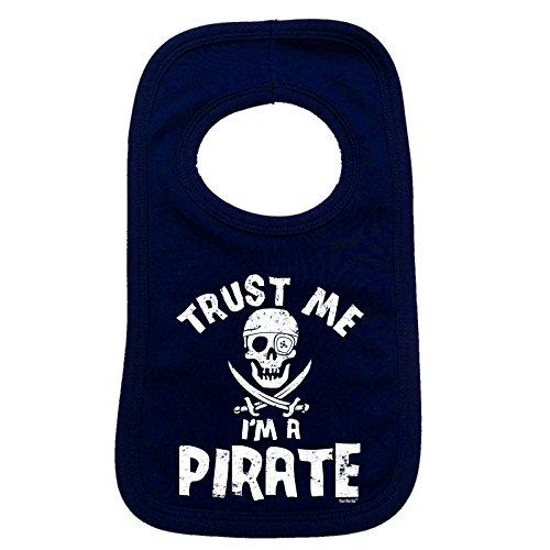 123t TRUST ME Baby-Lätzchen Piraten I'M (Boot Bib Baby)