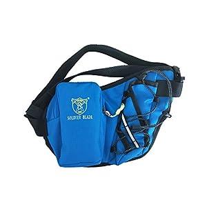 Sport Gürteltasche mit Flaschenhalter, Lauftrinkgürtel Runners Hüfttasche für Outdoor Sports Wandern Radfahren Wandern Laufen.