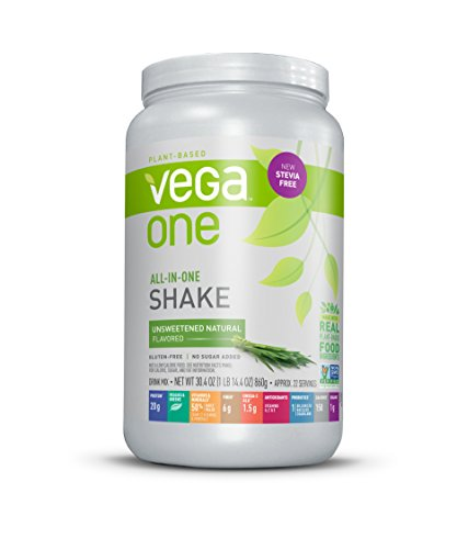 Vega One Natural Unsweetened - 827 gr