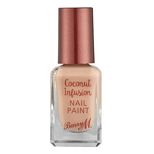 Barry M Cosmetics infusione in fibra di cocco, con smalto, colore: sunkissed