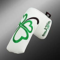 Artesano Golf Clover/trébol blanco cubierta del Putter de Golf de Scotty Cameron electragolf de Odyssey