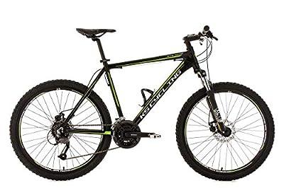 KS Cycling Fahrrad Mountainbike MTB Hardtail 26 Zoll GTX RH 51 cm, Schwarz, 26, 335M