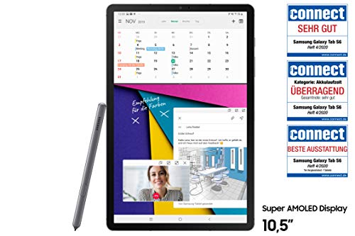 Samsung Galaxy Tab S6 T860 (10.5 Zoll) Wi-Fi, mountain grey