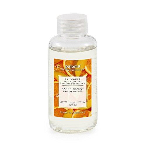 Raumduft Nachfüllflasche 100ml pajoma Duftöl für Diffuser Duft wählbar (Mango-Orange) (Mango-duft)