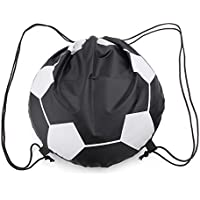 Lamdoo Outdoor Sport Carry Net Drawstring Bag Nylon Football Pallavolo Borse da Basket
