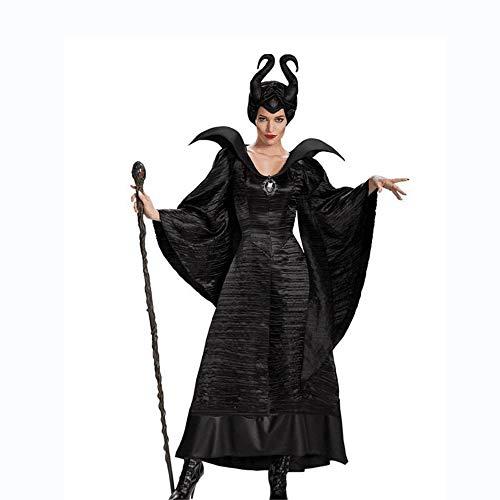 Shisky Halloween kostüm Damen, Halloween Rollenspiel schlafen Zauber dunkler Dämon Königin Kostüm Stage Performance ()