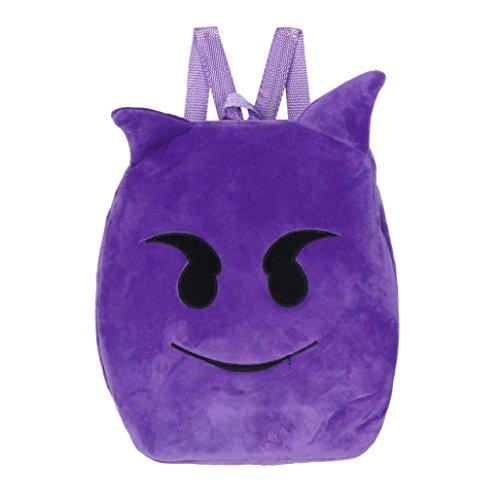 Imagen de bolso kukul linda emoji emoticon bolso de la escuela    bolso de la