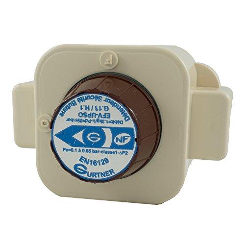 Gurtner - Détendeur Butane - Détendeur Gaz Butane 1.3kg/h Sécurité Basse Pression M20x150