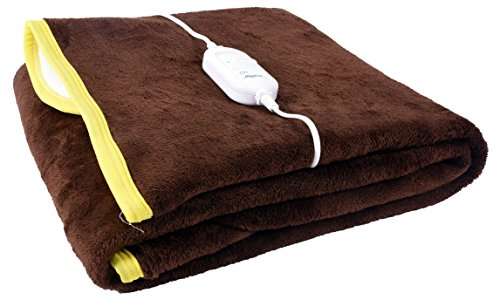 Warmland Premium Shock Proof and Heating Electric Single Bed Warmer (Brown)  available at amazon for Rs.799