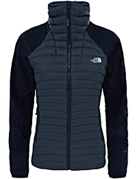 The North Face W Verto Micro Chaqueta, Mujer, Negro, M