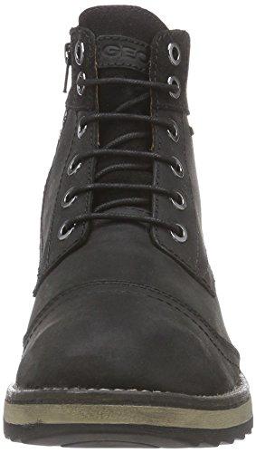 Geox U SHOOVY WP A Herren Chukka Boots Schwarz (C9999BLACK)