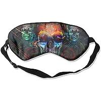 Colorful Skull With Rose Sleep Eyes Masks - Comfortable Sleeping Mask Eye Cover For Travelling Night Noon Nap... preisvergleich bei billige-tabletten.eu
