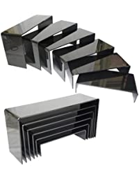 Black Acrylic 6 Layer Display Stand Riser, Pack of 2 sets