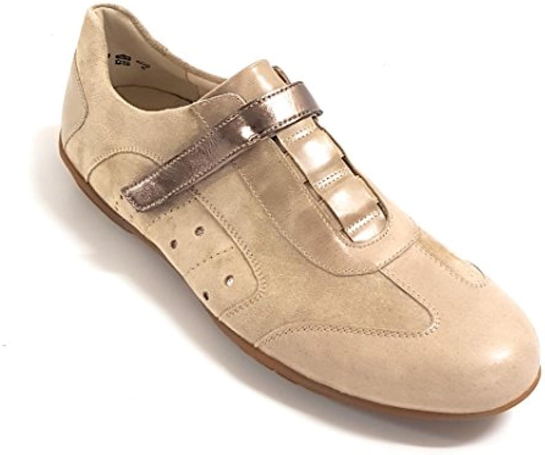 Semler - Zapatillas para Mujer Beige Stein-Graphit