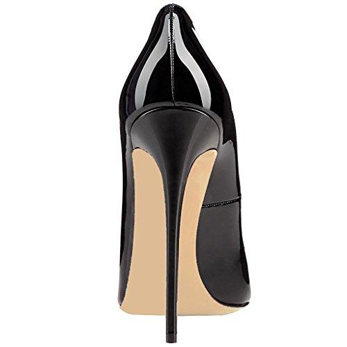uBeauty - Scarpe da Donna - Scarpe col Tacco - Classiche Scarpe col Tacco Nero