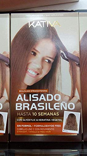 Scheda dettagliata Kativa Keratin And Argan Oil Brazilian Straightening Kit Formaldehyde Free