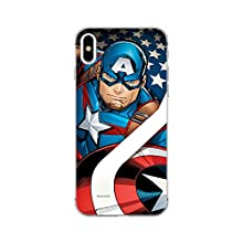 Original MARVEL Captain America 004 iPhone XS Max Phone Case Cover