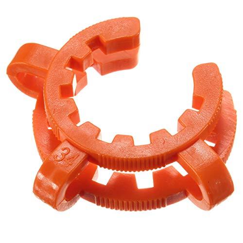 ChaRLes 10 Stücke Labor Kunststoff Klemme Clip Keck Für Taper Glas Masse 10/12/14/19/24/29/34/40/45-34 -