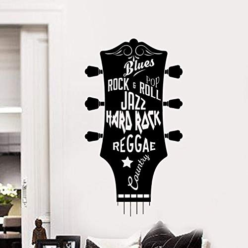 ter Guitars Wallpaper Living Room Decoration Music Guitar Removable Wall Decals Kids Room Wall Poster  42x76cm ()
