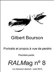 RALMag 8 - Portraits et propos à vue de perdrix