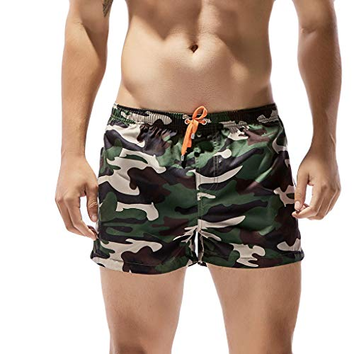 ZARLLE_Pantalones Pantalones Cortos Cargo de algodón para Hombre Cortos para Hombres Cargo...