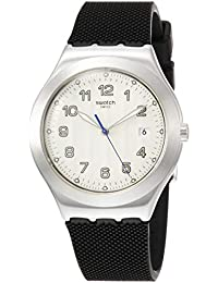 Swatch Reloj Analógico para Hombre de Cuarzo con Correa en Caucho YWS437