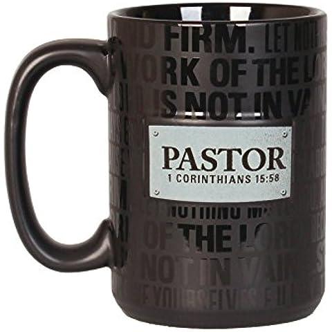 Faro Christian prodotti Badge di fede Pastore Tazza in ceramica, 16oz