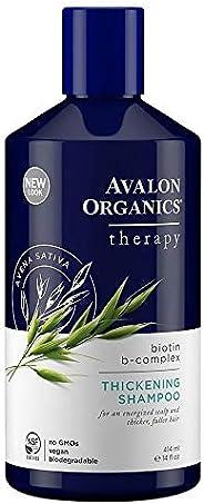 Avalon Organics Therapy Thickening Shampoo, Biotin B-Complex, 14 Oz