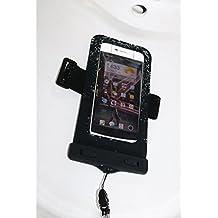 Cool&Fun Funda Impermeable: Bolsa Impermeable Sumergible Móvil Waterproof Case Universal con la Función de Desbloqueo por Huella Digital para iPhone 7/6/6s Plus/5/5s (6 pulgadas Negro)