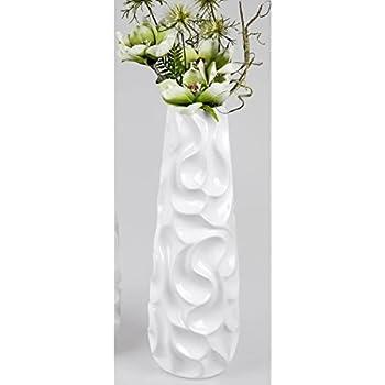 Asa Selection Twist Vase Weiss 50cm Halbhohe Bodenvase 92808091